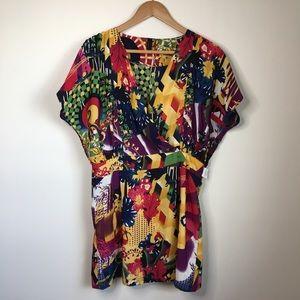ASOS Vero Moda Jo Lindsay Kapow S/S mini dress